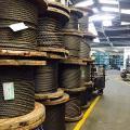 Distribuidor de cabo de aço